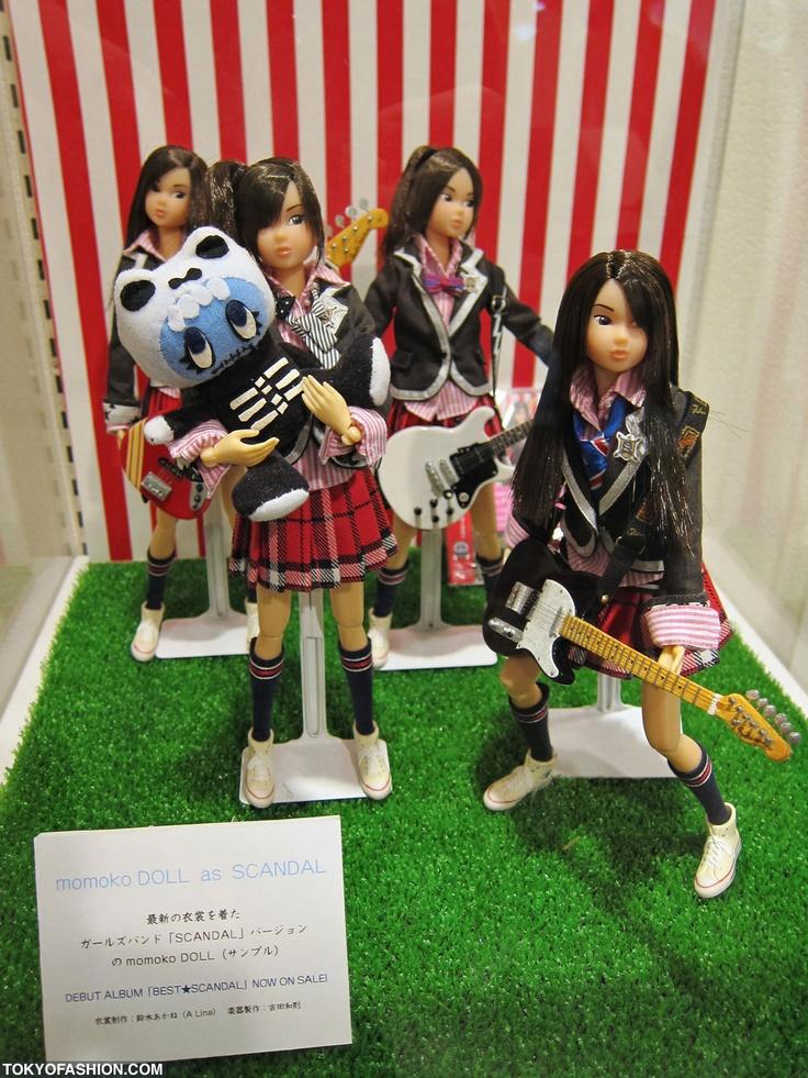 Scandal The Band Momoko Dolls