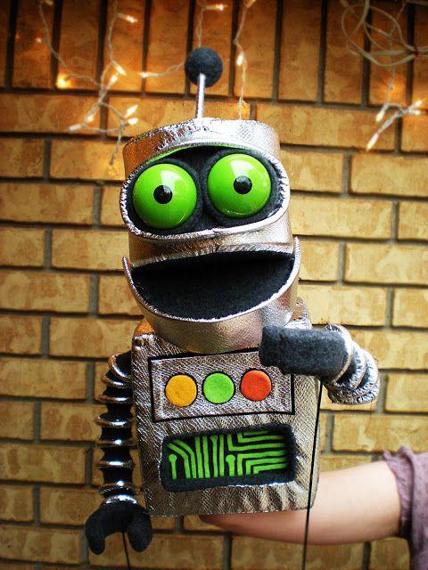 Dallin Blankenship  Other Robot Puppet.