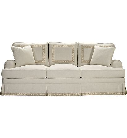 Hepburn Sofa from the Upholstery collection by Hickory Chair Furniture Co.