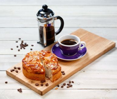 Recept: Vetekrans med smak av svenska äpplen och kaffe