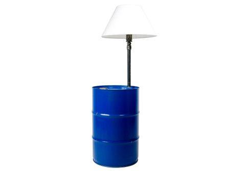 Lampa beczka polskiej pary projektantów  http://gotowewnetrza.pl/sklep/lampa-beczka-z-abazurem/