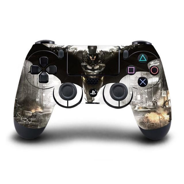 PS4 Controller Skin - Batman Collection #playstationgames #Playstationtips