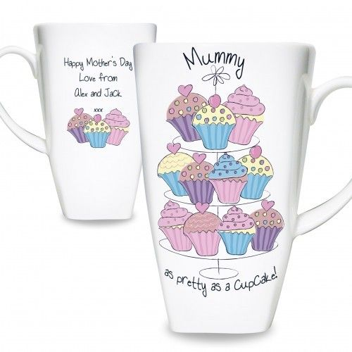 Personalised Cupcake Mugs  from Personalised Gifts Shop - ONLY £9.99