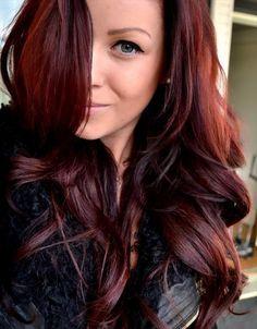 Dark Auburn Hair Colour