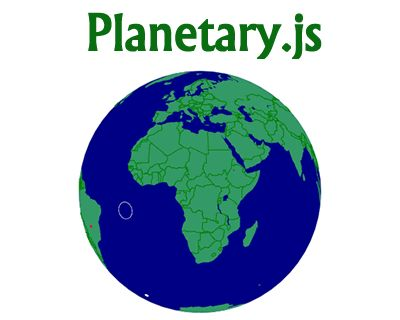 Planetary.js – JavaScript Library for Building Interactive Globes  #javascript #interactive #globe #library #data