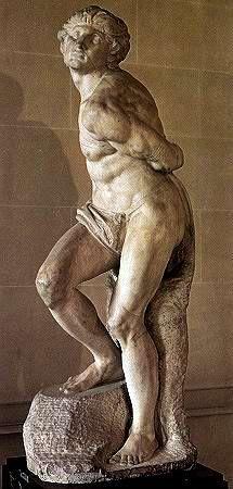 lázadó rabszolga - Michelangelo