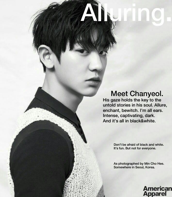 Handsome ChanYeol from Exo