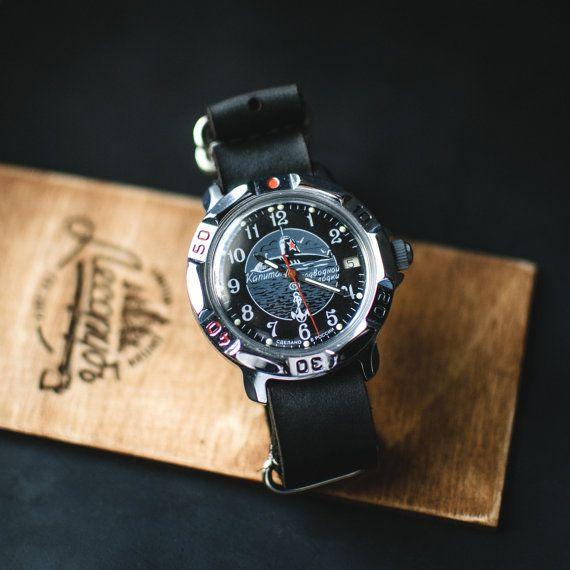 Rare military watch Wostok Submarine mechanical от Trulesorub