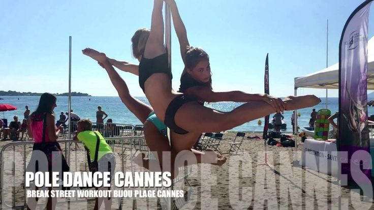 STREET WORKOUT - POLE DANCE CANNES À BIJOU PLAGE CANNES