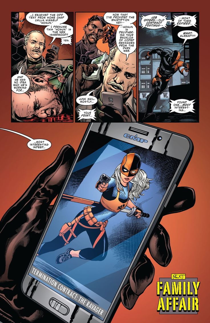 Deathstroke (2016) Issue #2 - Read Deathstroke (2016) Issue #2 comic online in high quality