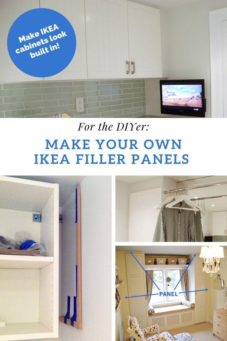 Rambling Renovators Making Ikea Cabinets Look Expensive Hint Use Diy Ikea Pax Filler Panels Ikea Cabinets Ikea Laundry Room Ikea
