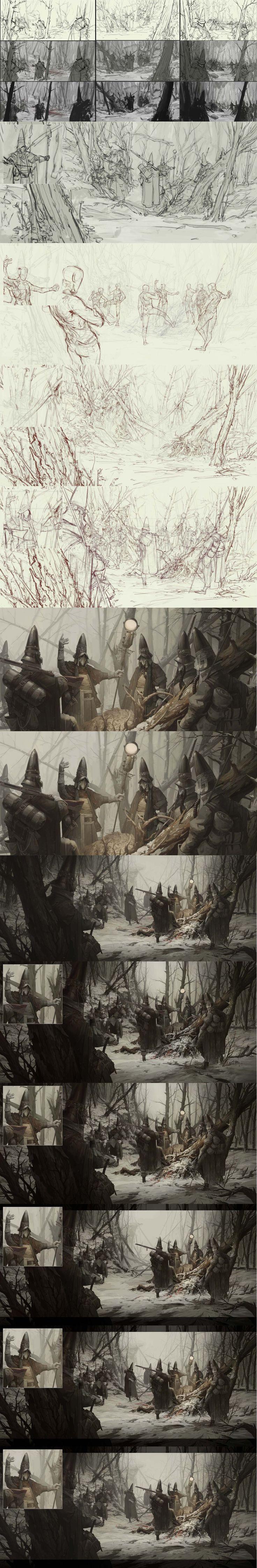 Ash Walkers, First Hunt by TIMOFEY STEPANOV  https://www.artstation.com/artwork/zWwBZ