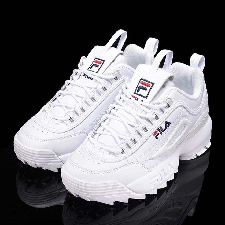 Fila Disruptor Ii 2 Weiss Fs1htz3071x Damenmode Sportschuhe Sneakers Schuhe Damenmode Disruptor Fila Fs1 Bayan Ayakkabi Ayakkabilar Topuklular