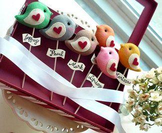 Love Bird Cake Topper Give Away