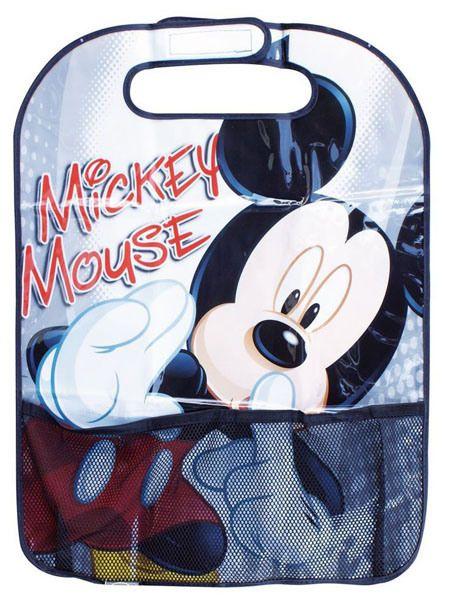 Libreria da viaggio per bambini - Portaoggetti auto Disney Mickey Mouse