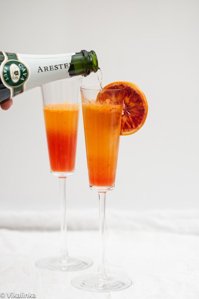 Blood orange, Sparklers and French 75 on Pinterest