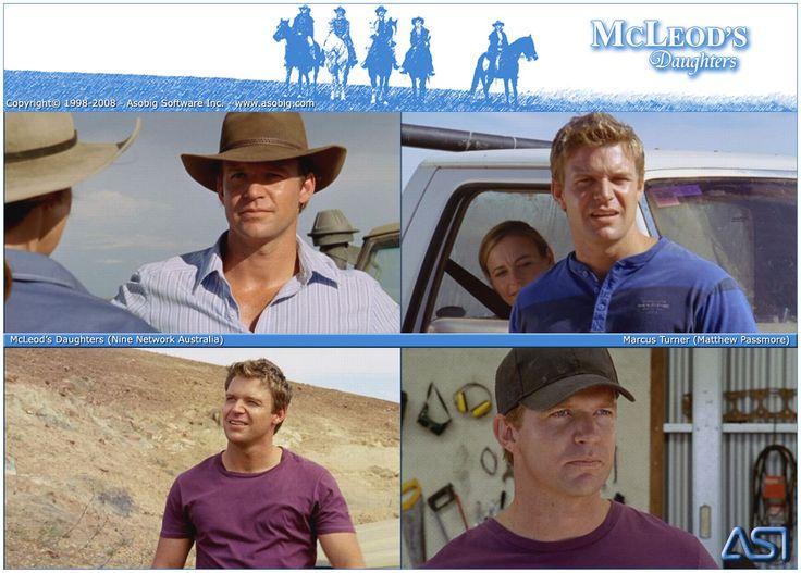 Matt Passmore as Marcus Turner in McLeod's Daughter.