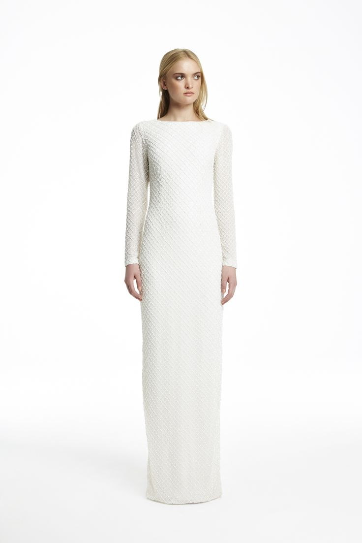 AW15 // FLORIDA GOWN IVORY