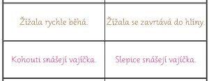 Úkolem je přečíst věty na obou stranách a posoudit, na které straně jsou věty pravdivé a na které jsou lživé.