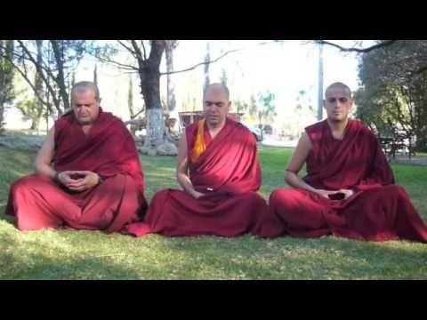 (2/2) Guía básica de meditación con el Ven. Lobsang Tonden - YouTube