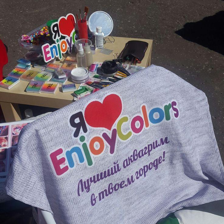 Рабочее место, красота)))) #enjoycolors