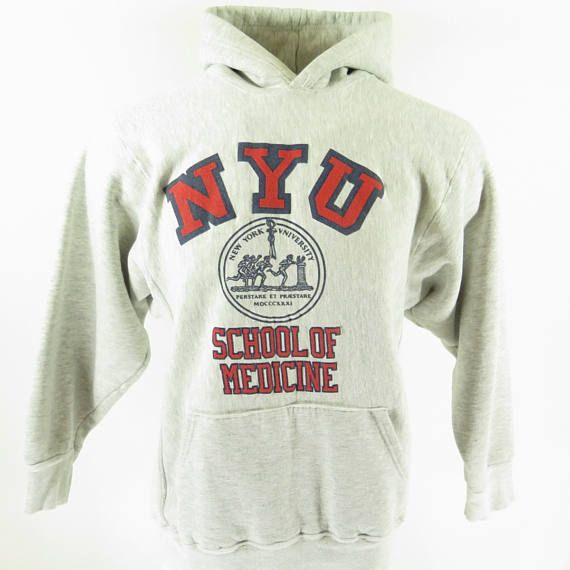york university hoodie. vintage 90s new york university sweatshirt mens l kayzee hoodie
