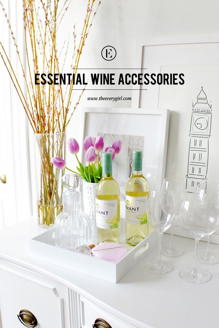 Essential Wine Accessories for the Wine Lover #theeverygirl