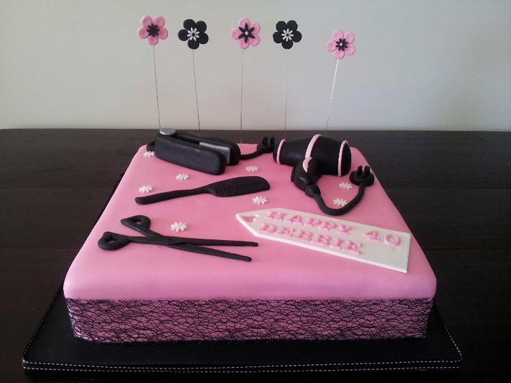 19 best images about Cakes for Hair Stylist on Pinterest ...