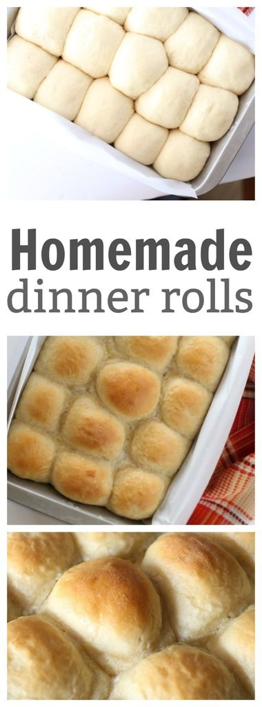 Easy Homemade Dinner Rolls - anyone can make these delicious homemade rolls. It's a recipe handed down from my Grandma that's tried and true!