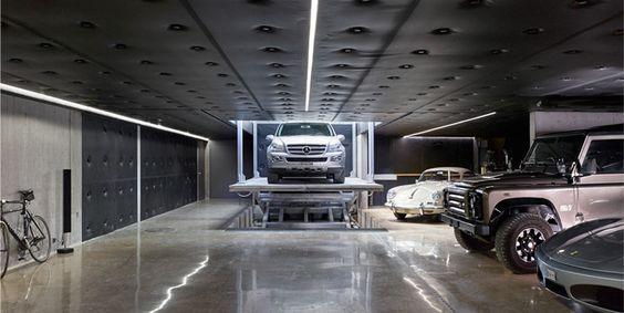 1000 ideas about underground garage on pinterest modern for Basement access from garage