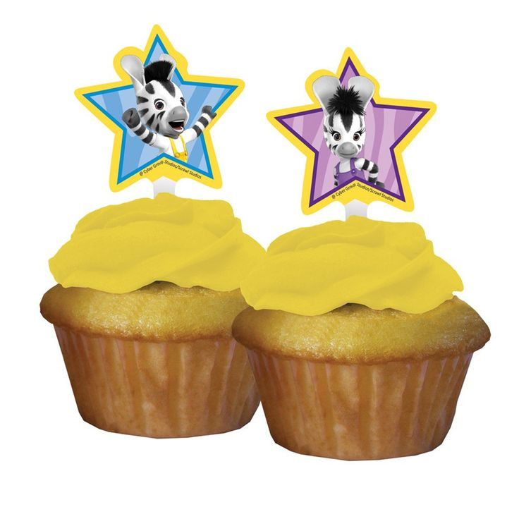Zou Cupcake Toppers/Case of 144