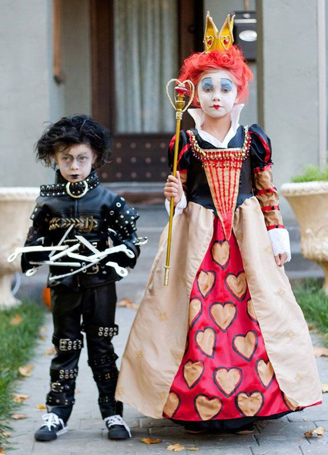nike discount stores online Edward Scissorhands   Queen of Hearts Halloween Costumes