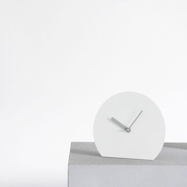 Via Menu   Grey Clock