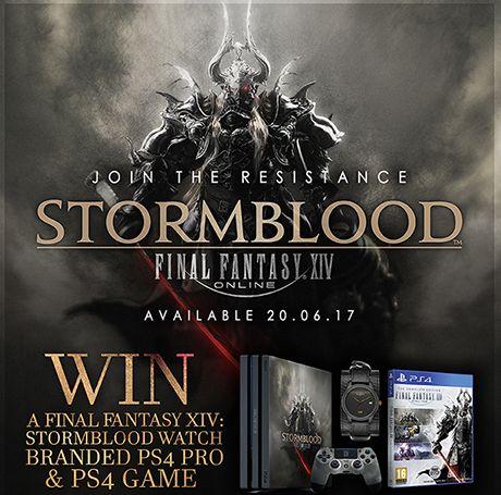 STORM London - Win a Custom Stormblood PS4 Pro & Stormblood Watch - http://sweepstakesden.com/storm-london-win-a-custom-stormblood-ps4-pro-stormblood-watch/