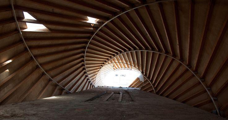 Interior. Fotografías por Rubén Bodewig, antes del incendio.