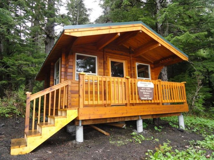 Top Ten Cabins on the Tongass National Forest - National Forest Foundation