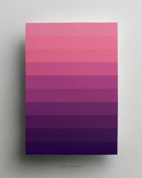 Purple gradient poster - linxsupply.com.