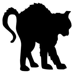 sticker chatnoir