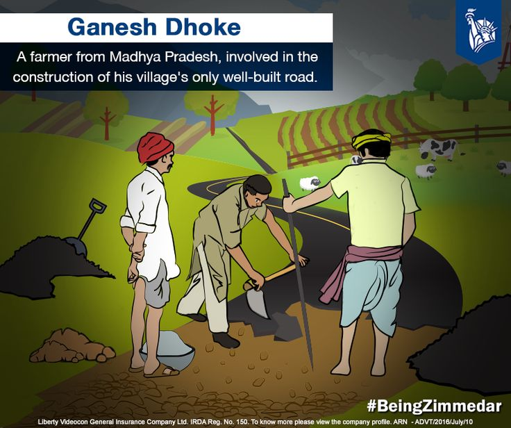 For the village of Paradsinga, Madhya Pradesh, travelling around during the monsoons was a huge difficulty. With more experience, he now plans on constructing a dam to prevent the acute water crisis condition in his district. #BeingZimmedar