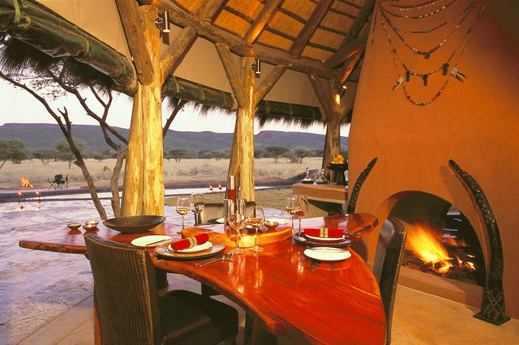 A personal host / hostess and chef attend to your every need whilst you enjoy your exclusive guide and game-drive vehicle, thus setting the leisurely pace that bests suits you, your family or small group of friends, during your stay at OKONJIMA'S unique Bush Suite.