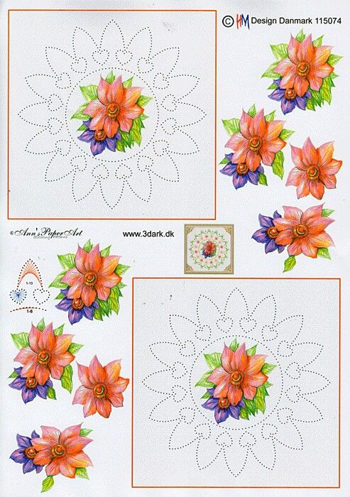 3D broderie