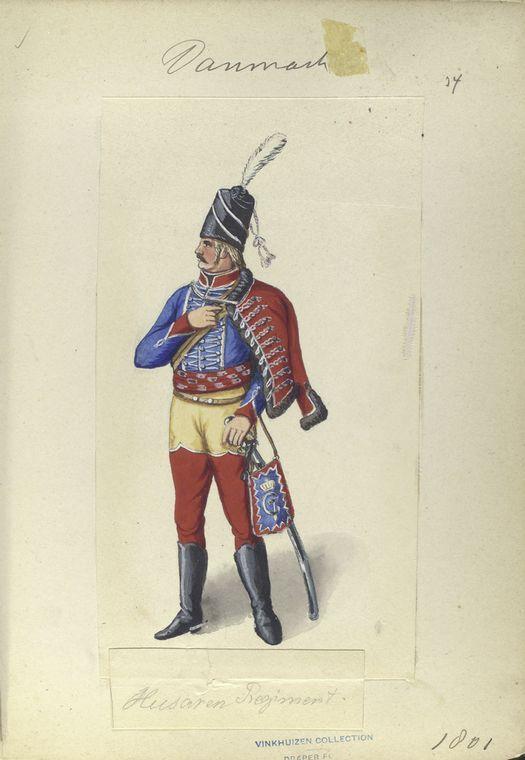 Denmark;Hussar 1801