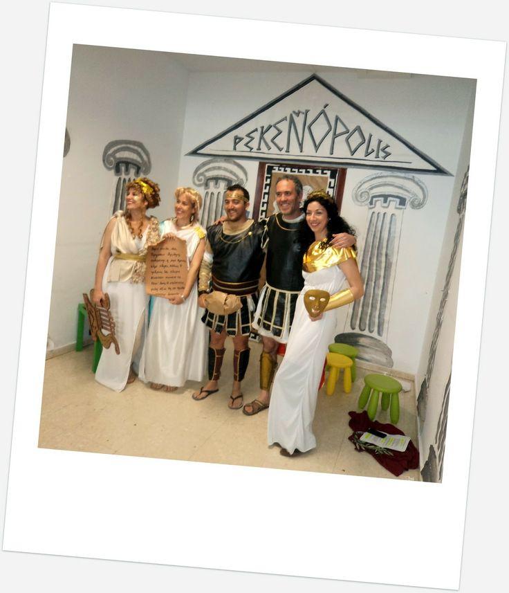 Representación para los alumnos de infantil sobre la antigua Grecia