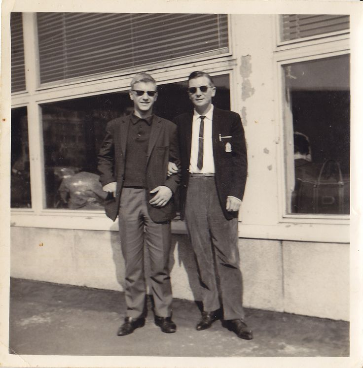Seppo and my dad, Armas Sutinen