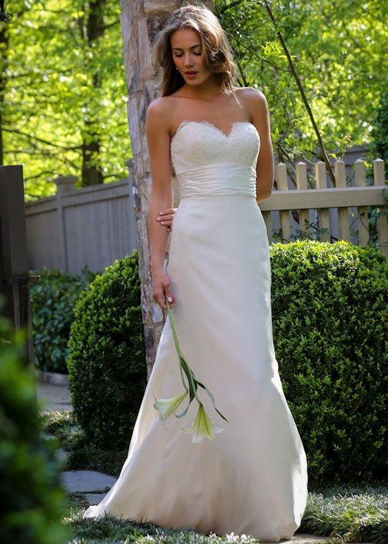 Simple The Wedding Shop wedding gown wedding dress