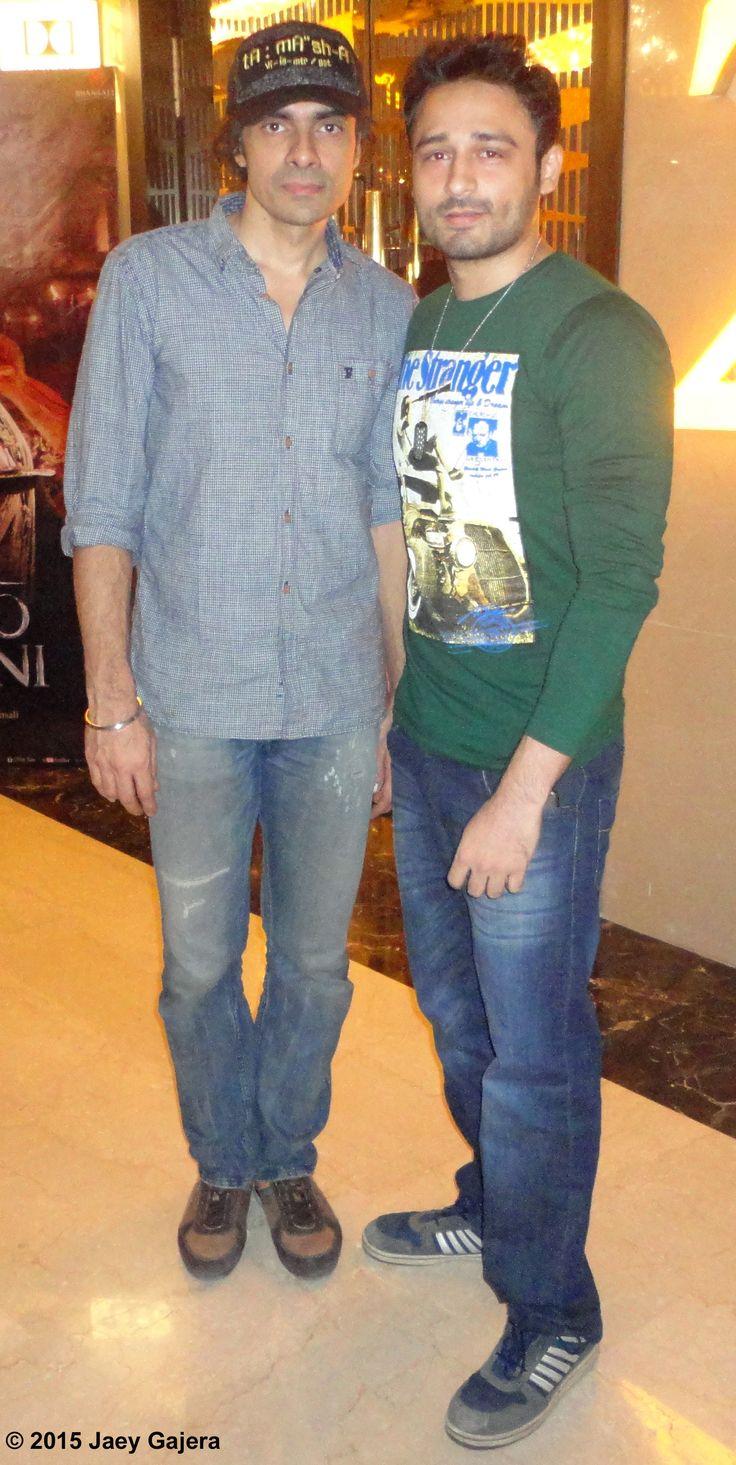 Imtiaz Ali and Jaey Gajera together to watch Indian romantic drama film Tamasha. In Theatres Now. Get your Tamasha mode on! Twitter.com/JaeyGajeraIndia Instagram.com/JaeyGajera Twitter.com/TeamJaey #Tamasha #ImtiazAli #SajidNadiadwala #RanbirKapoor #DeepikaPadukone #ARRahman #JaeyGajera #NadiadwalaGrandsonEntertainment #UTVMotionPictures