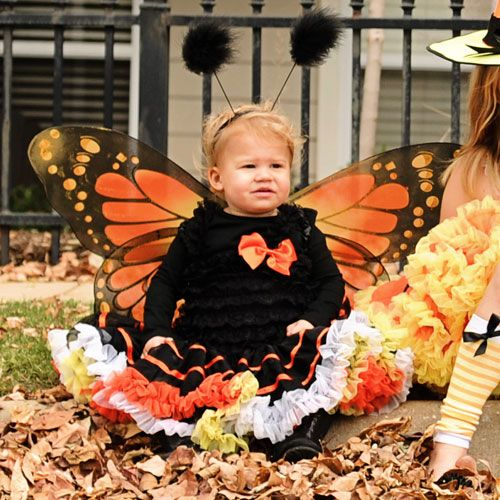 Magical Monarch Butterfly Tutu Costume from @PoshTots #Halloween #Butterfly #Costume