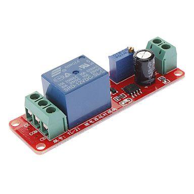 Delay Timer Switch Adjustable 0 to 10 Second with NE555 Oscillator Input 12V #kit #diy #diyrobot #robot #electronics #arduino #technology #smartrobot