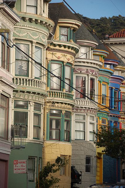 San Francisco, California - this picture reminds me of Full House and That's So Raven :)