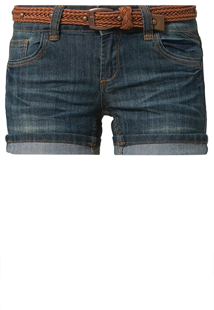 Best Mountain - Denim shorts - blue